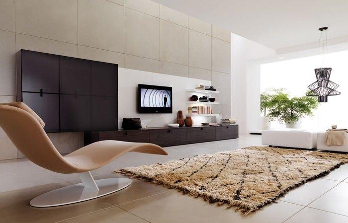Причина №3: без дивана пространство становится просторным и лёгким