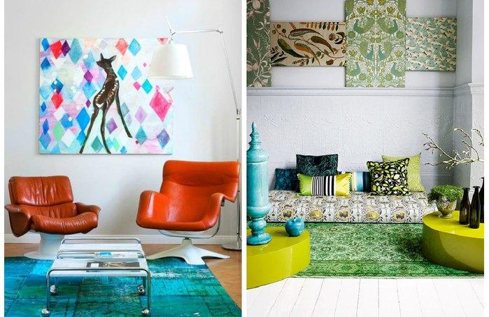 Причина №1: гостиная без дивана – это стильно!