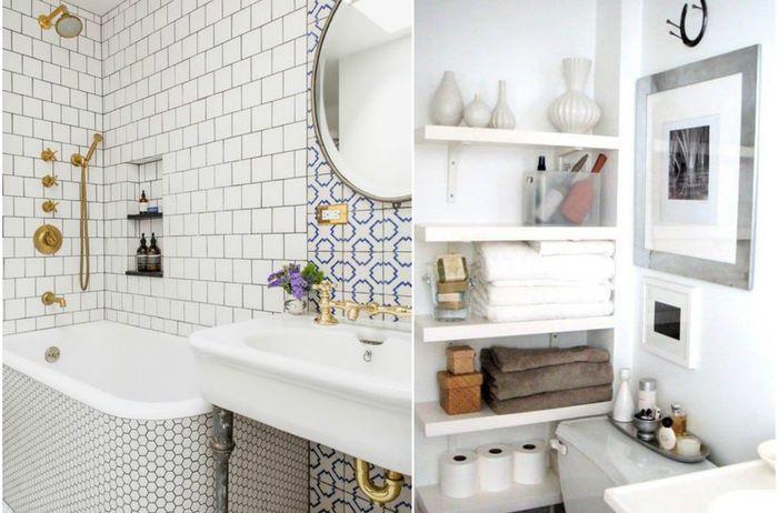 10 больших идей для маленькой ванной, которые удивят и вдохновят