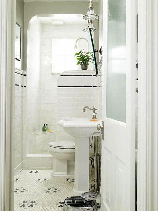 Угловой душ