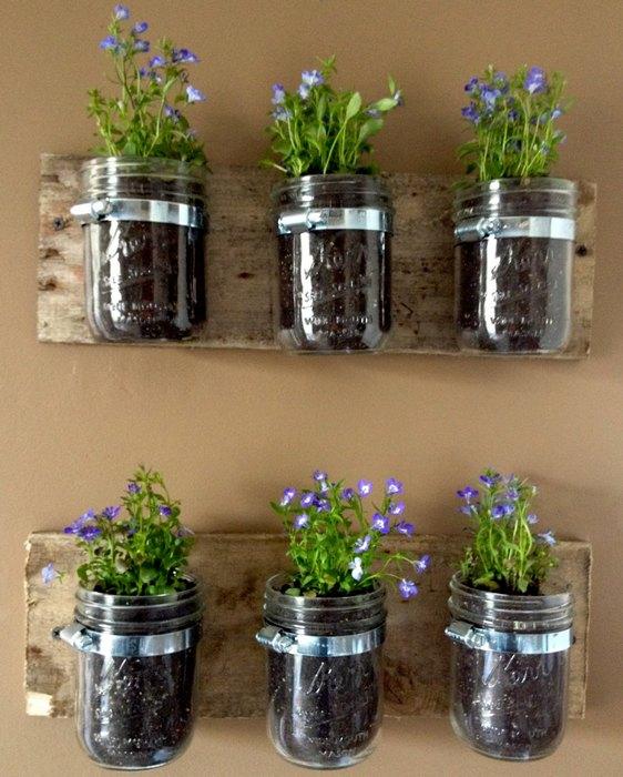 Идея №1: комнатные растения