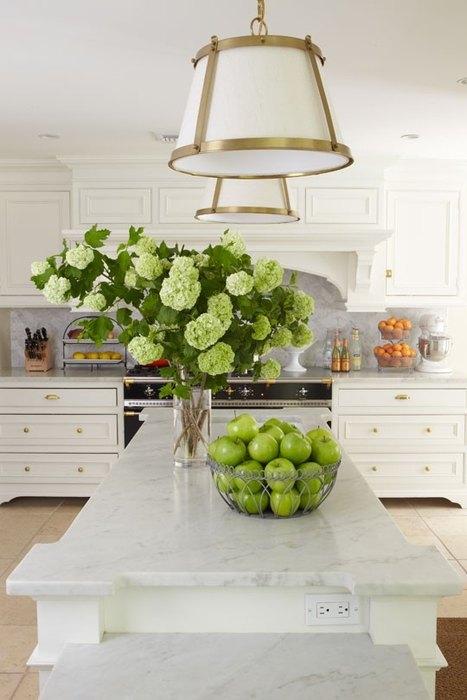 Идея №8: зелёные яблоки, как элемент декора
