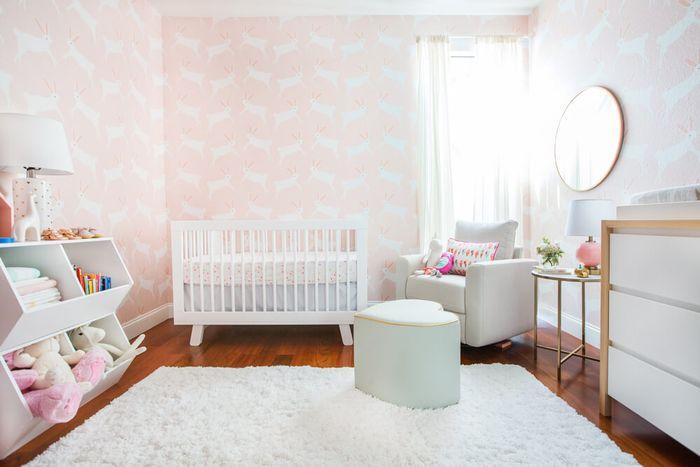 Как оформить комнату для новорожденной: реальный пример «до» и «после»