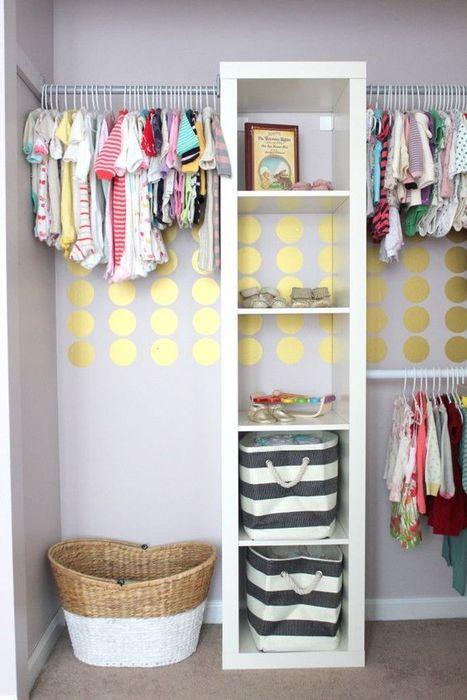 Хранение детского гардероба