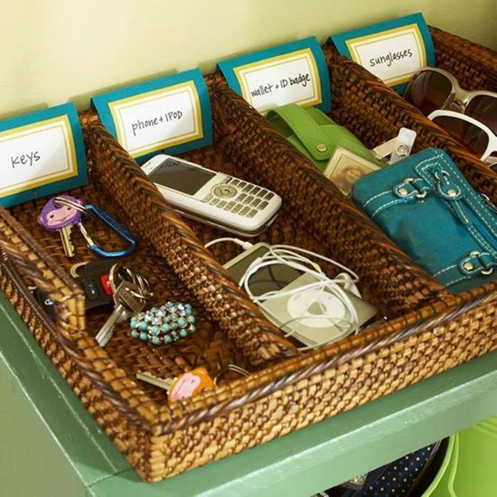 Хранение мелочей в прихожей