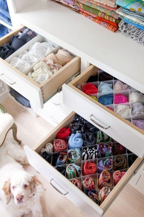 Лаконичное и экономичное хранение вещей в комоде