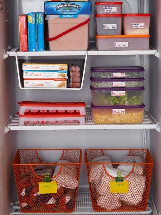 Организация хранения в холодильнике