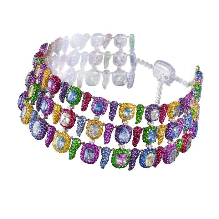 Радужное ожерелье de Grisogono