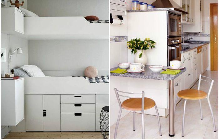 Жизнь в маленькой квартире: 7 способов сделать своё жилище предпочтительнее