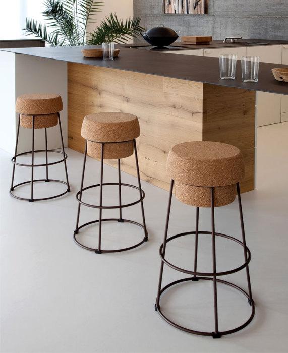 Креативное решение для зоны столовой