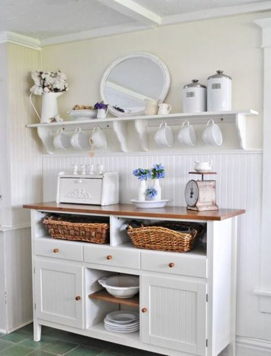 Посуда, как элемент декора