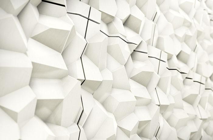 Объёмная плитка от Cristina Vezzini