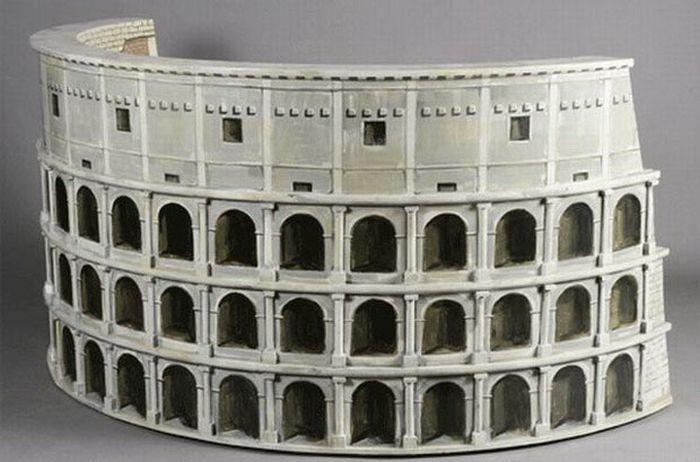 Миниатюра Колизея