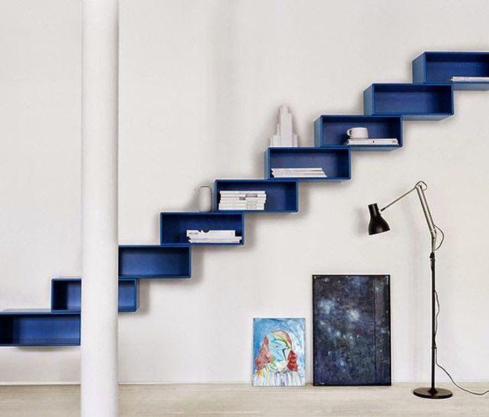 Лестница из ящиков