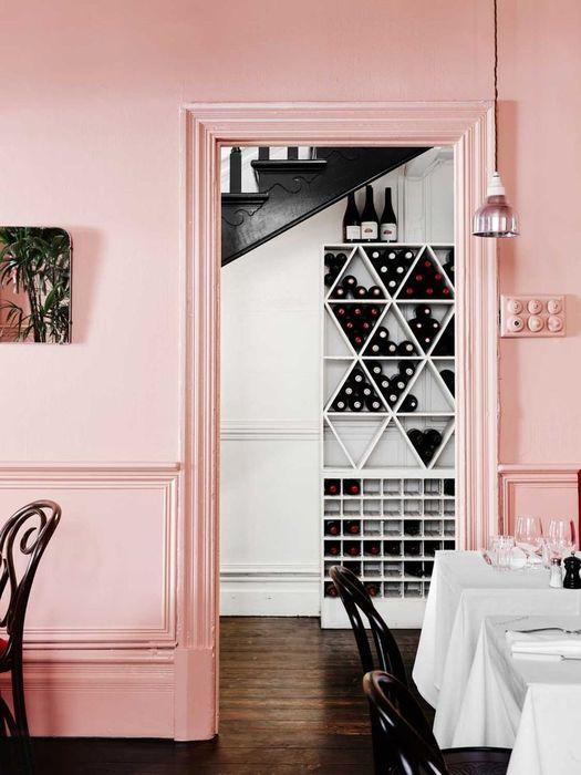 Приятный розовый оттенок