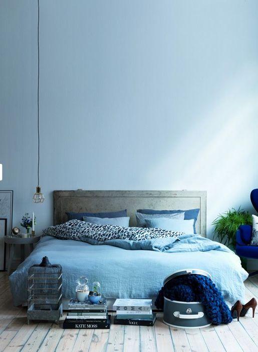 Приятный цвет для интерьера спальни