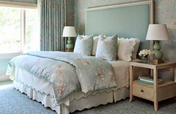 Гармоничная цветовая гамма в спальне