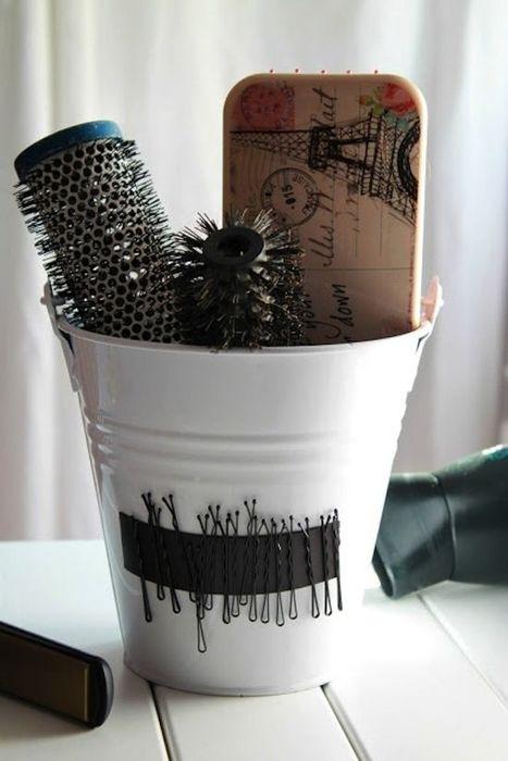 Хранение расчёсок и неведимок