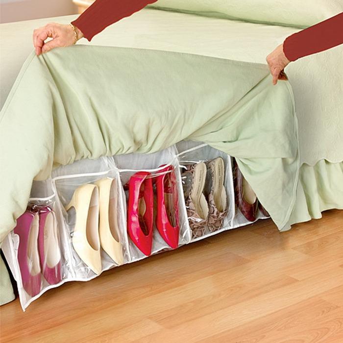 Хранение женской обуви