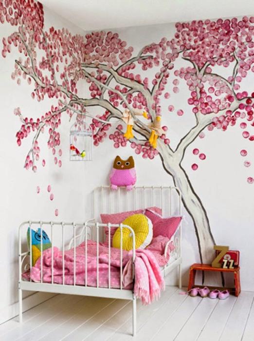 Способ №10. Нарисовать дерево на стене