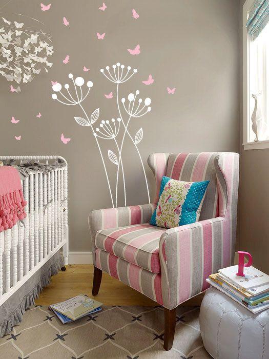 Способ №3. Нежные обои для комнаты младенца
