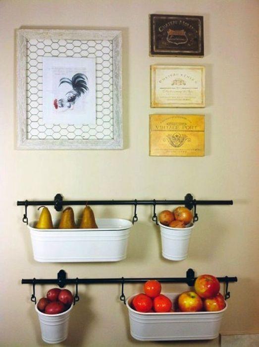 Интересный способ хранения овощей