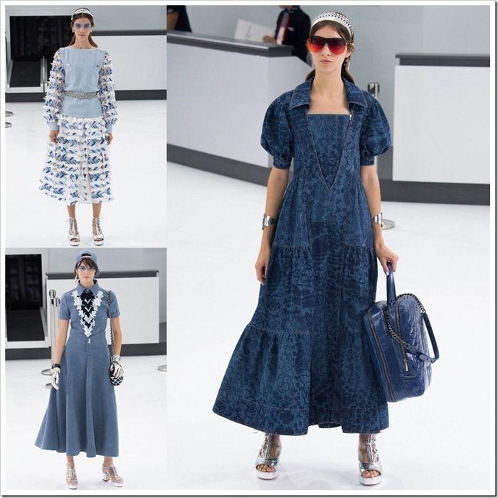 Джинсовые платья Chanel