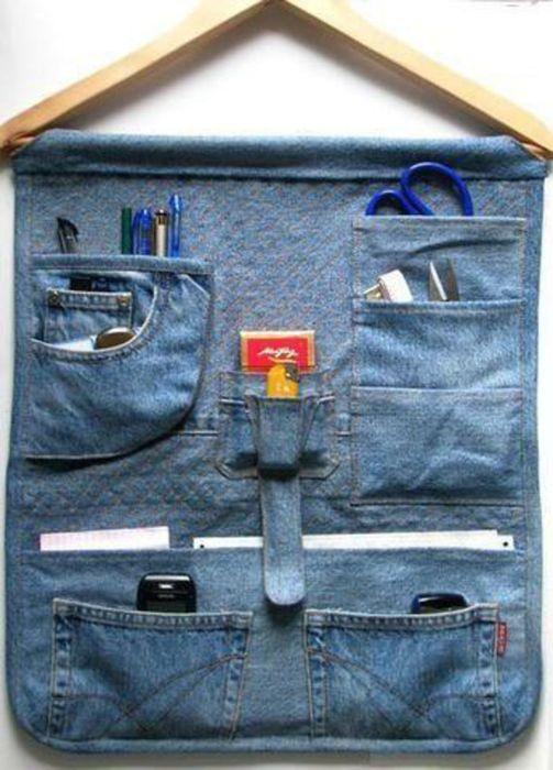 Изделия из старой джинсы своими руками