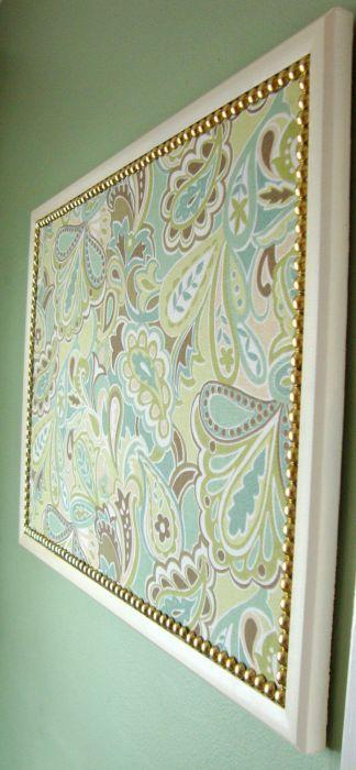 3. Для такого органайзера можно выбрать кусок дорогой и красивой ткани