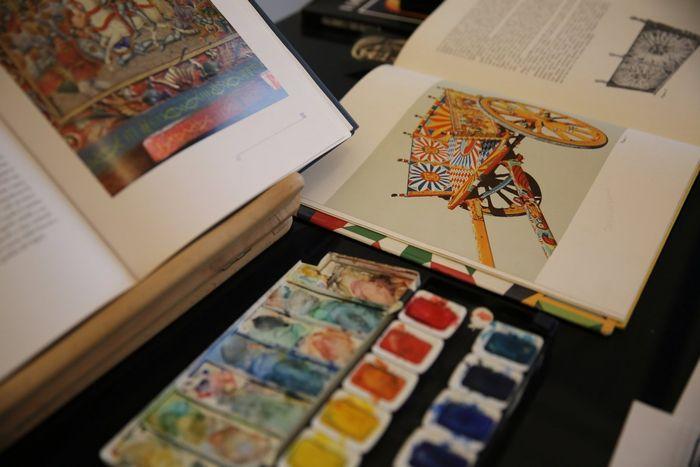 Над созданием рисунков трудились лучшие художники Италии