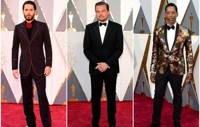 Самые яркие мужские образы церемонии Оскар-2016