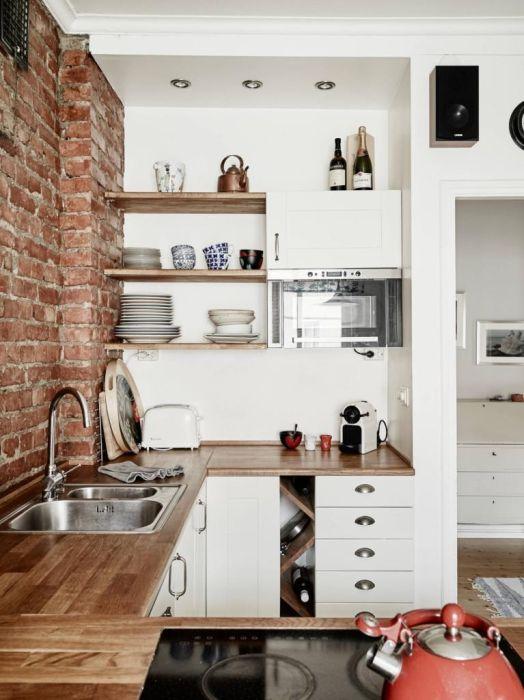 Стильное и бюджетное оформление кухни