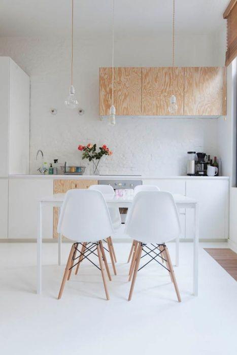 Лаконичный дизайн кухни в скандинавском стиле