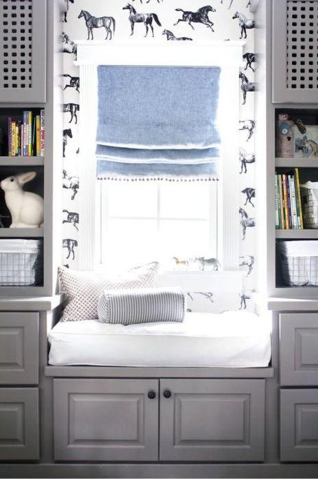 Окно, как место для отдыха