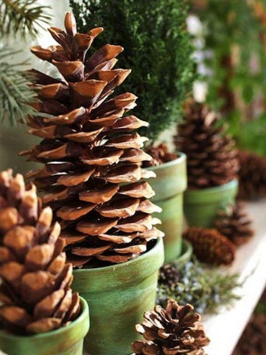 Простой и красивый новогодний декор