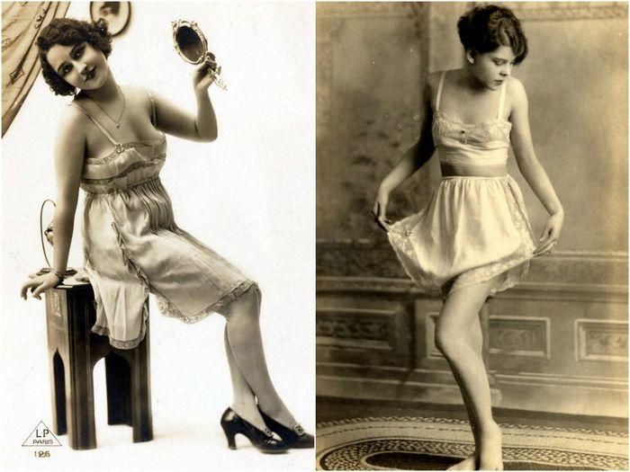 женское белье 1930 года