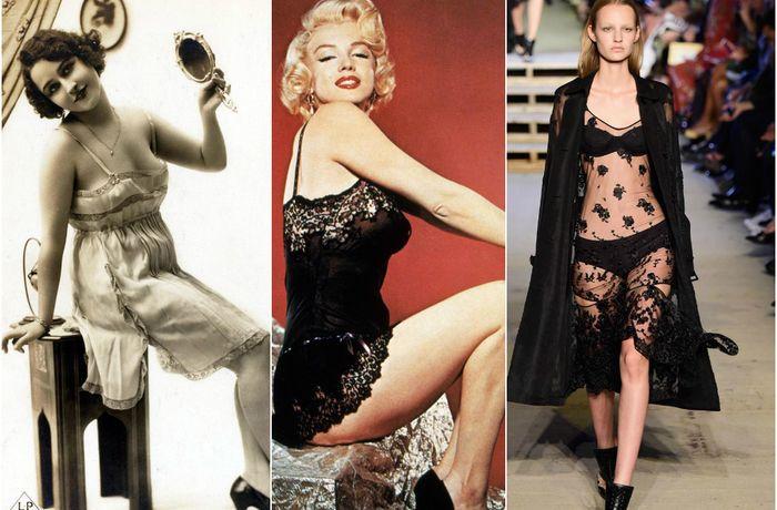 Как изменилось нижнее женское бельё за последние 100 лет: 35 пикантных примеров