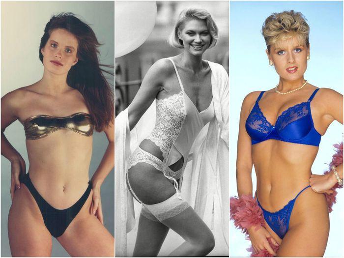 Линия бёдер: 1980-1990 годы
