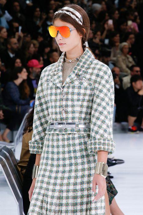 Цветные светоотражающие линзы от Chanel