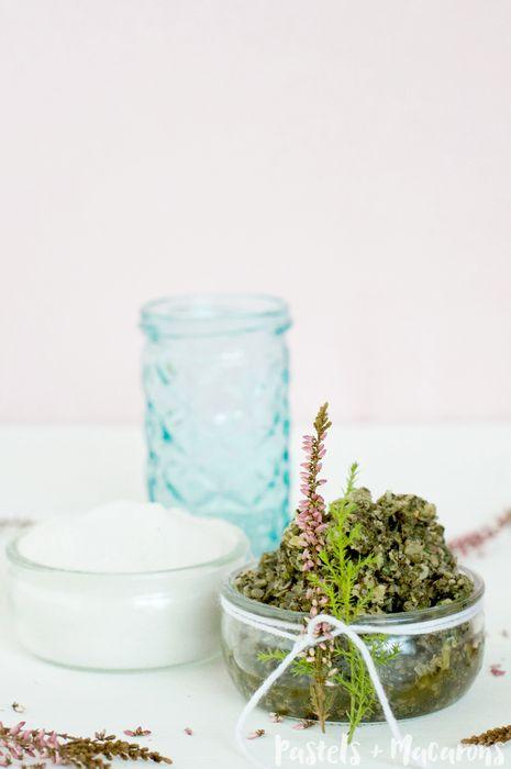 Увлажняющий скраб с зелёным чаем