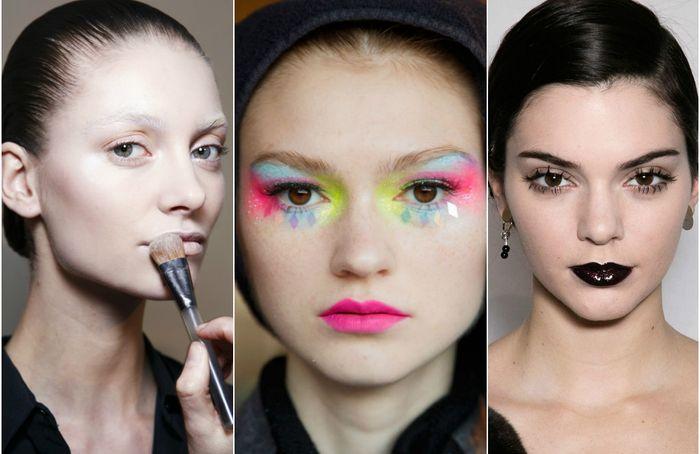 Модный макияж: 10 крутых и немного безумных трендов этой осени