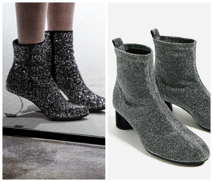 Носки на каблуках