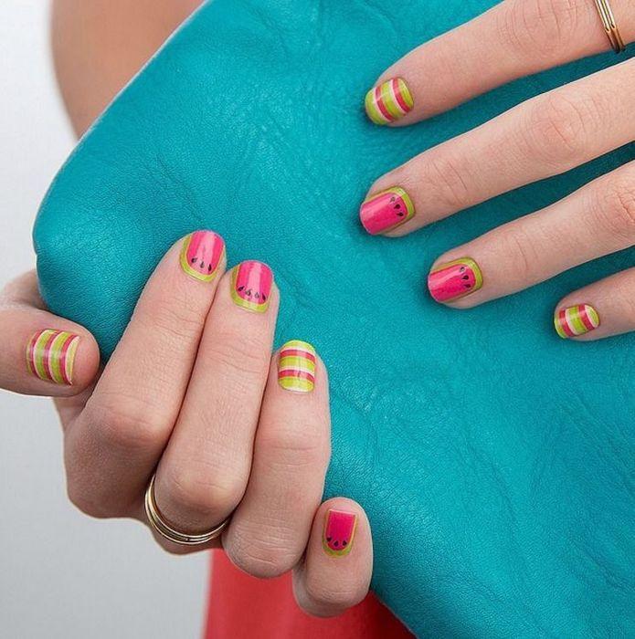 Короткие ногти в моде