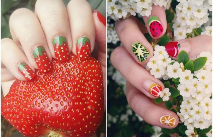 15 фруктовых идей для крутого летнего маникюра