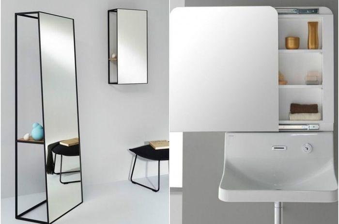 7 самых функциональных зеркал для ванной комнаты