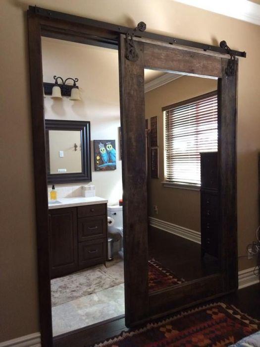 Зеркало на двери