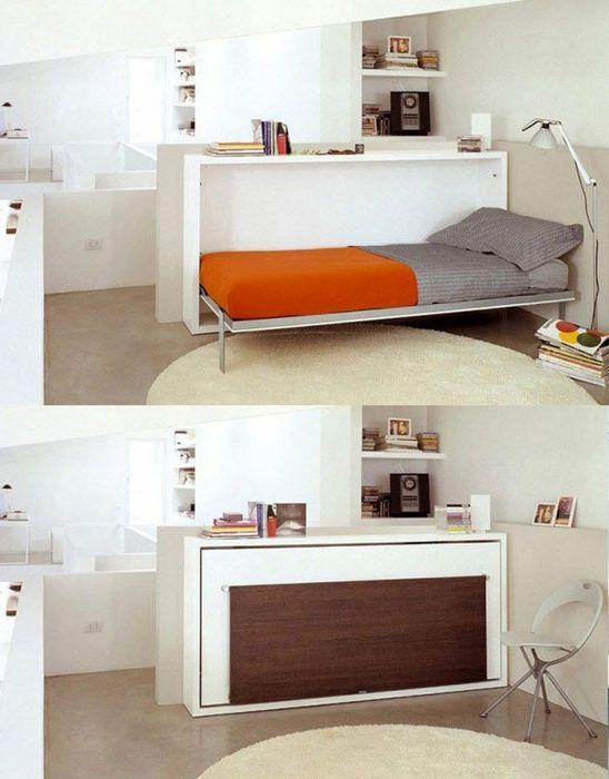 Стол-кровать-перегородка