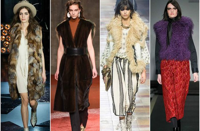 Меховая жилетка: как и с чем носить вещь must-have осенне-зимнего сезона