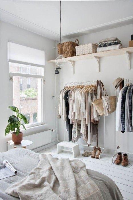 Альтернатива традиционной гардеробной