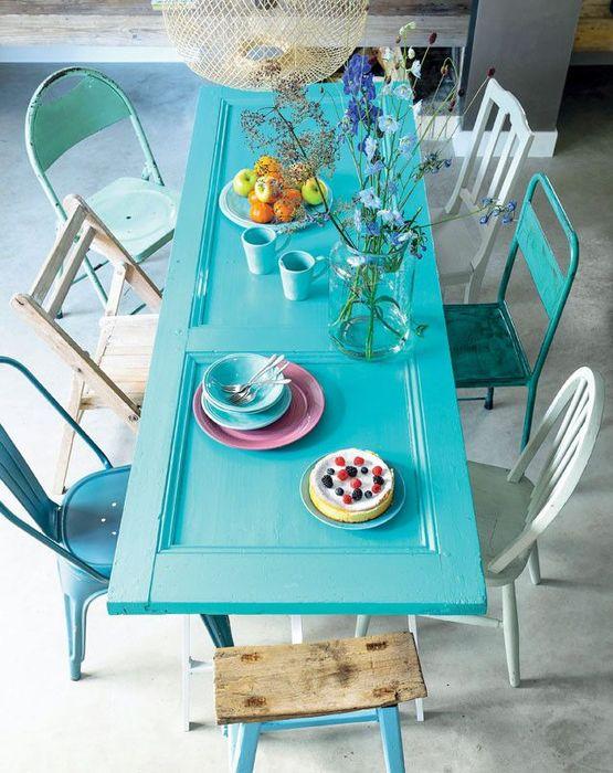 Голубая столовая зона